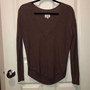 Wilfred Aritzia V-Neck Sweater, XS